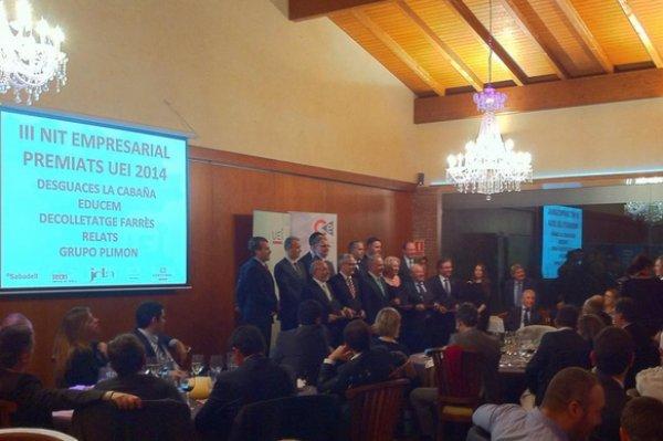 """Die """"III Nit Empresarial - Premis 2014 de la UEI - Cercle d'Empresaris"""" in Mas de Sant Lleí"""