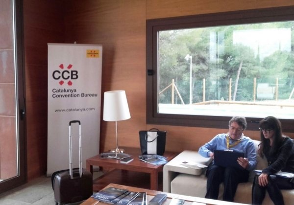 Mas de Sant Lle� at the workshop of French market organised by the Catalunya Convention Bureau