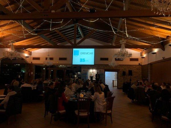 La UEI, celebra una gran cena de gala en Mas de Sant Lle�.