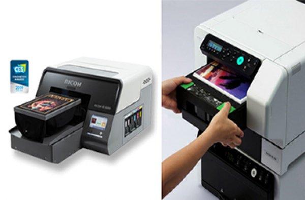 Ricoh simplifica la impressió tèxtil amb les impressores Ri 1000 i Ri 100