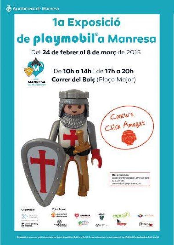 1� Exposici� Playmobil a Manresa