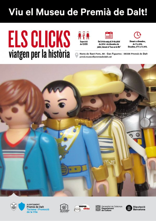 Els Clicks viatgen per la Història - Museu de Premià de Dalt