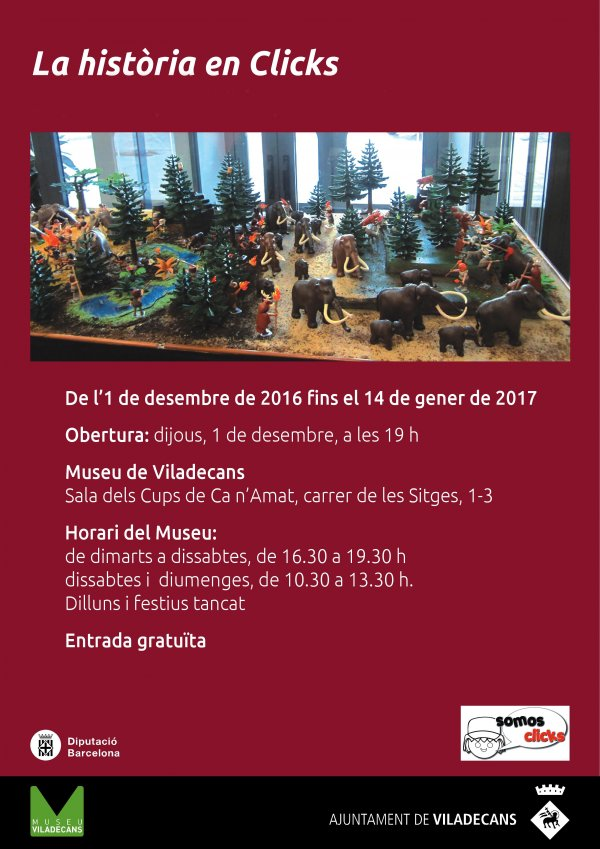 La història en Clicks - Museu Viladecans