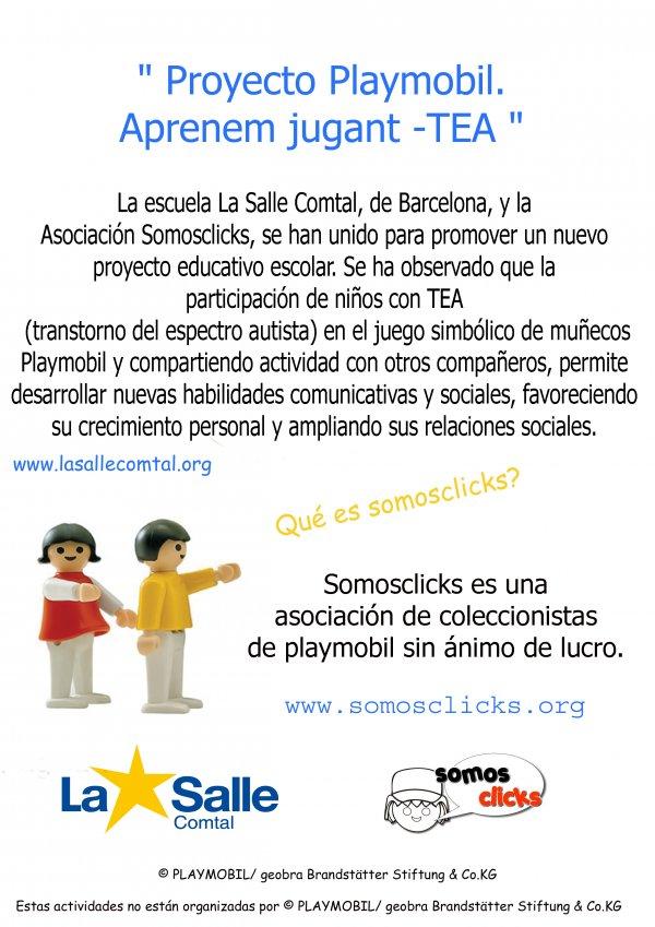 Aprenem jugant - TEA - Projecte amb La Salle
