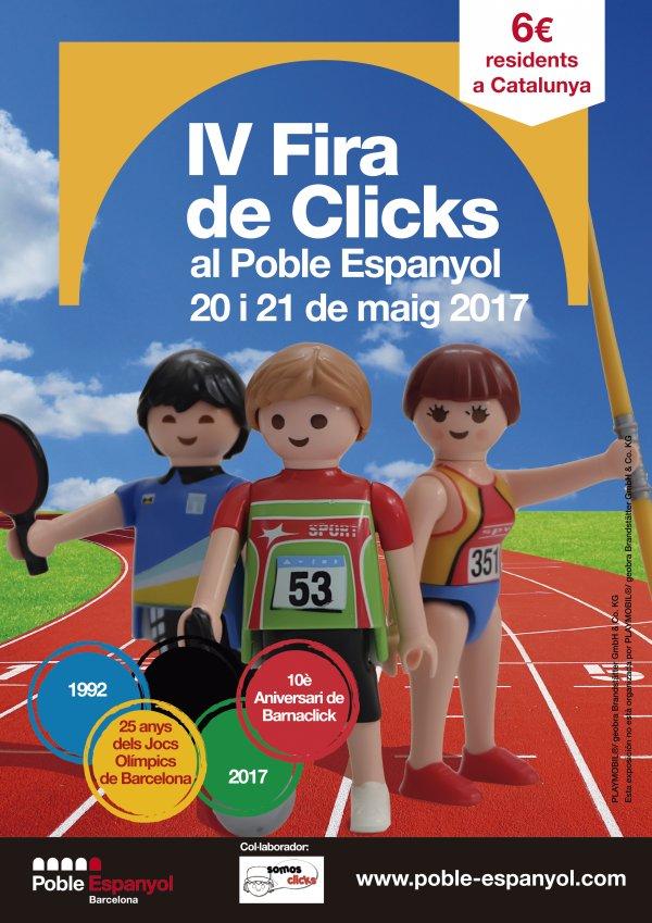 IV Fira de Clicks al Poble Espanyol