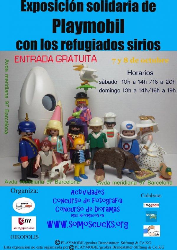 Exposici�n de Playmobils solidaria con los refugiados sirios