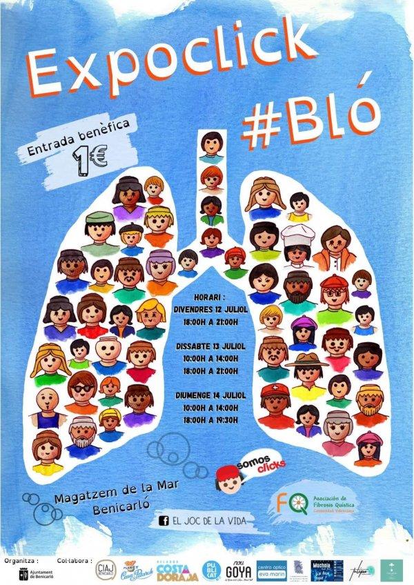 1er ExpoClick a Benicarl� per la fibrosi qu�stica