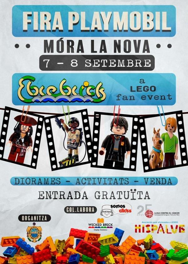 Fira Playmobil M�ra la Nova (Tarragona) - 7 i 8 de setembre