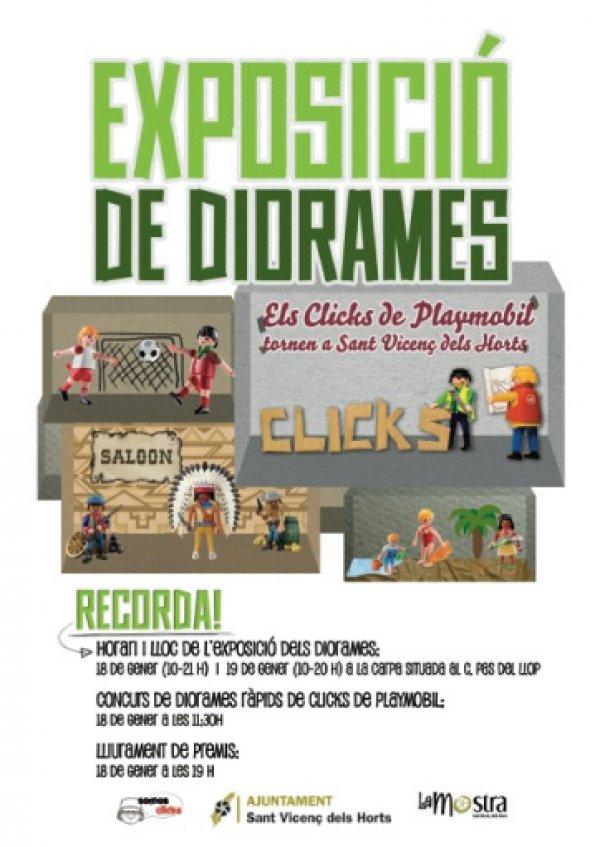 Exposici�n dioramas Sant Vicen� dels Horts